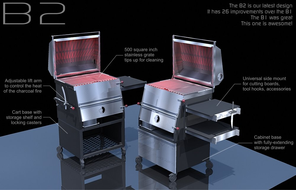 The best grill we can possibly offer. Awesome.