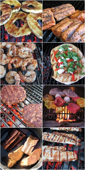 A small sample of the amazing flavors from the ancient art of charcoal grilling
